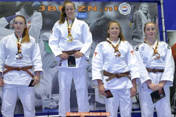 Topprestatie judoka Carmen Dijkstra | Geesteren één